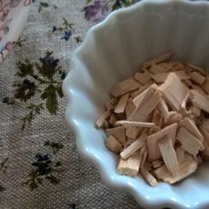 Aubier de tilleul blanc  Tilia platyphyllos-cordata copeaux.